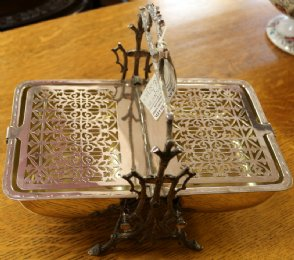 Silver Plated Victorian Serving Dish