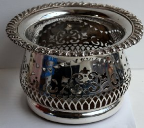 Silver Plated Wine Coaster ( Magnum Size)