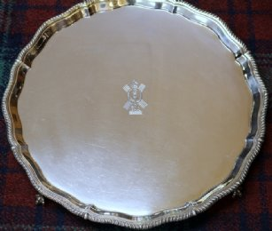 Silver Tray Sheffield 1912