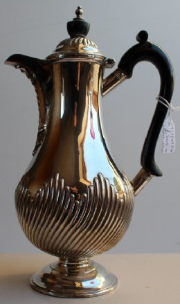 Walker & Hall Silver Coffee Pot